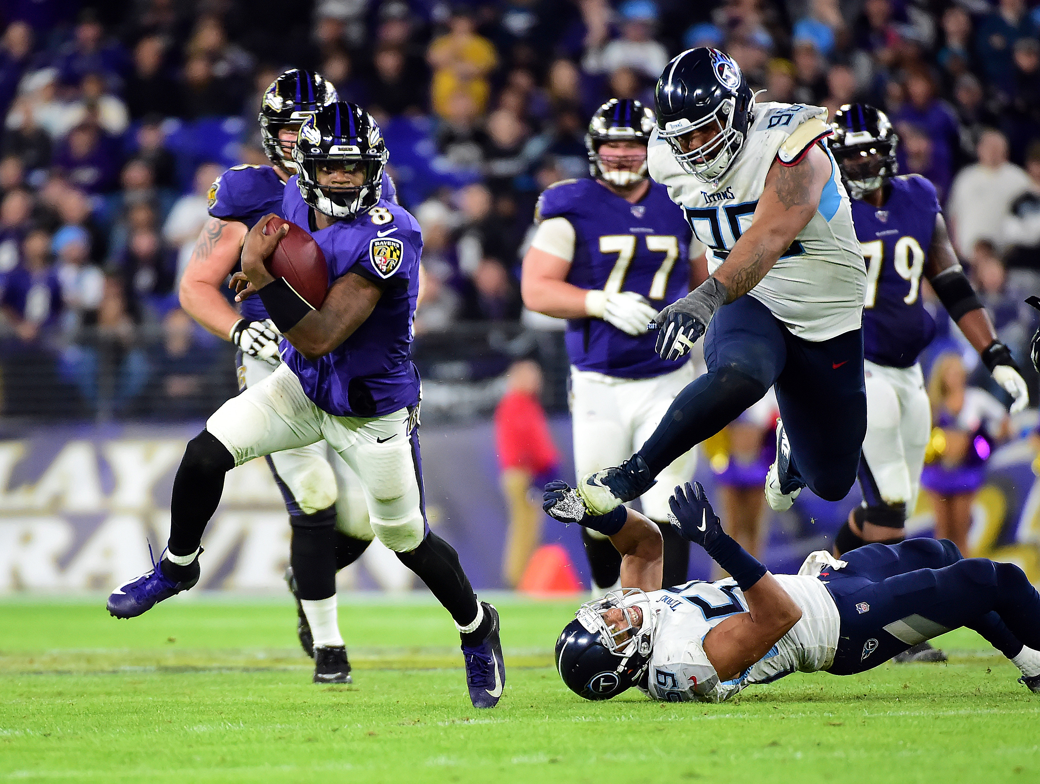 Ravens' 2021 schedule is backloaded with heavyweights
