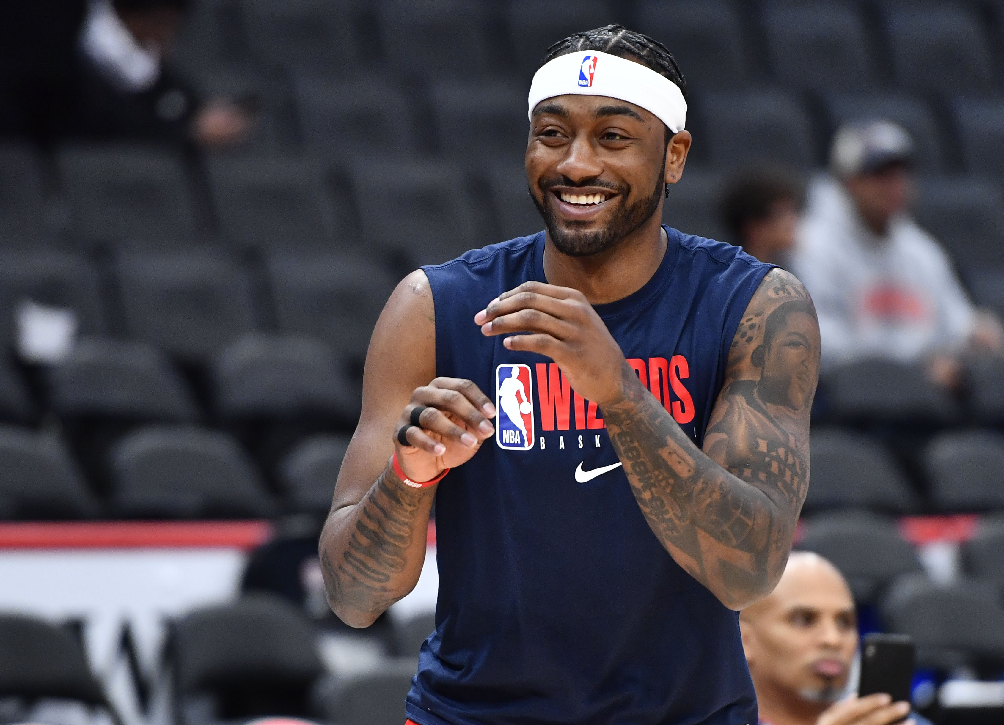 John Wall addresses possibility of returning from injury during playoffs