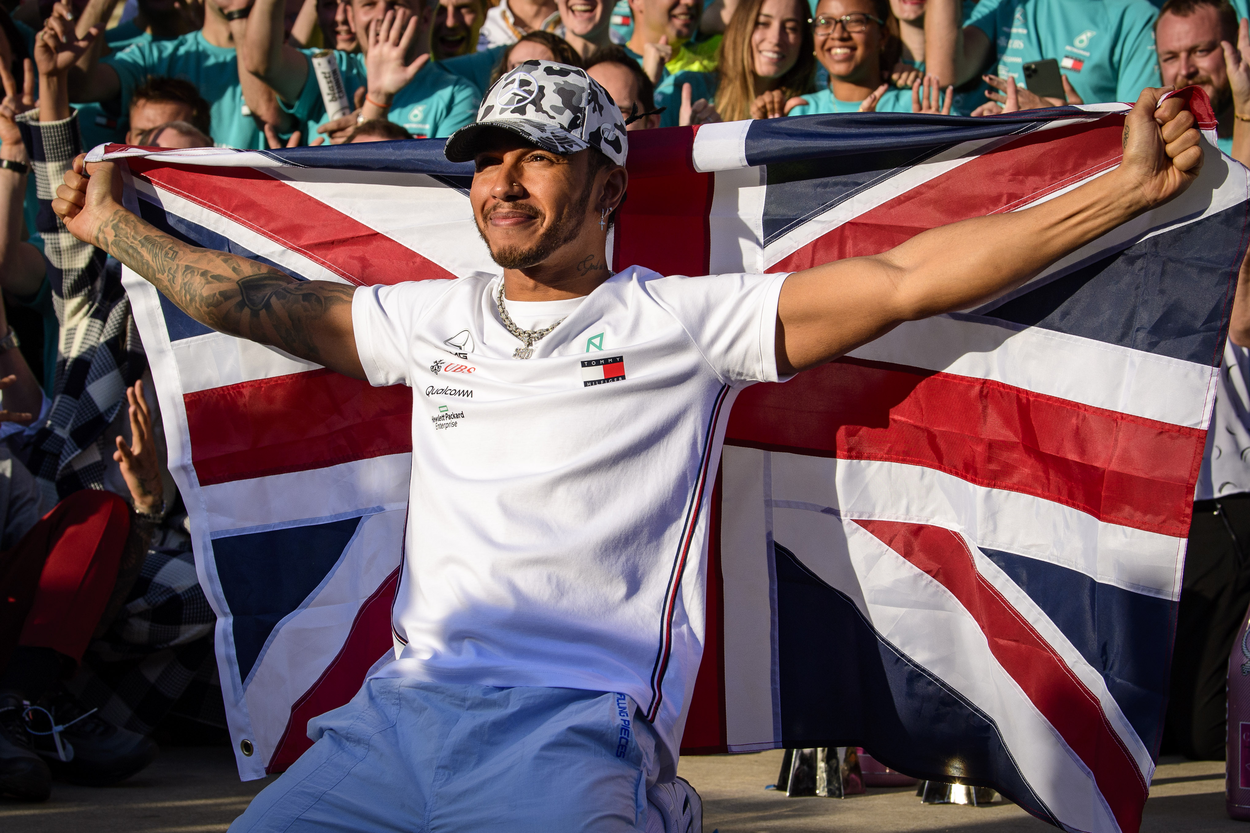 Lewis Hamilton sets record for most Formula One victories ever