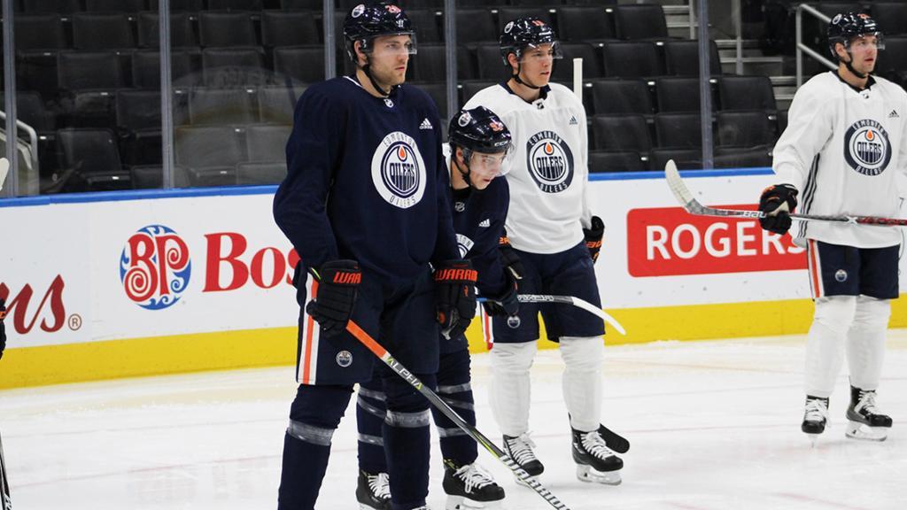 Edmonton Oilers Camp Report: Day 1