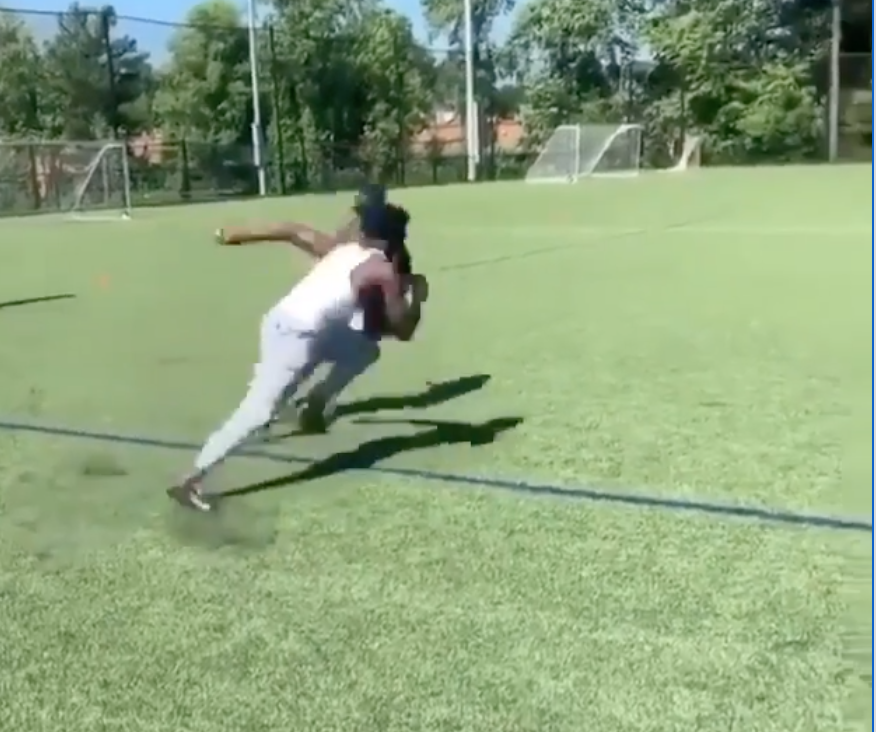 Calvin Ridley shows off quick feet, elusiveness in impressive workout video