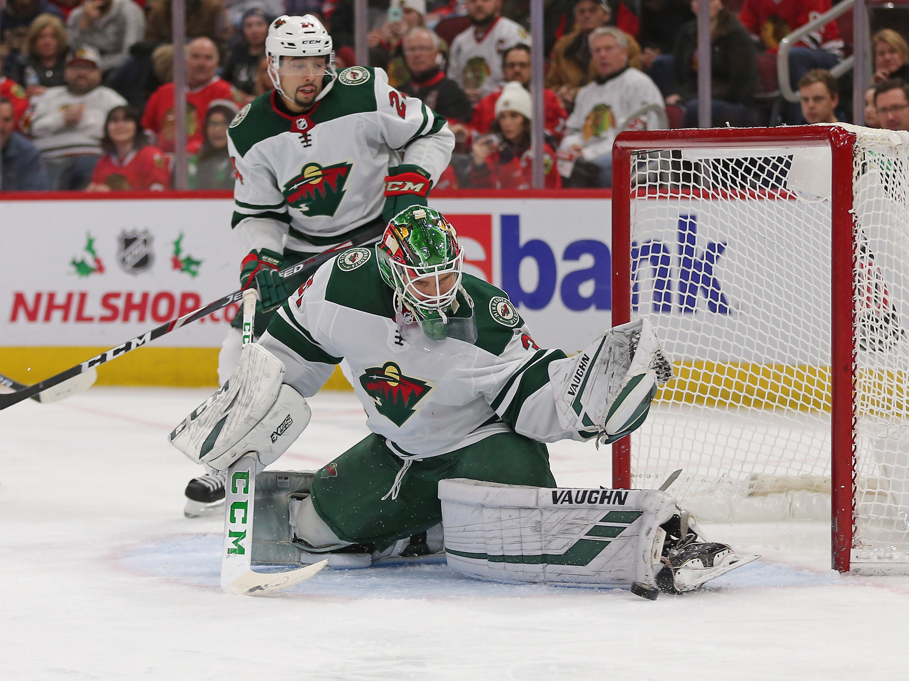 Kaapo Kahknonen Is Making the Wild's Playoff Goaltending Choice Tougher