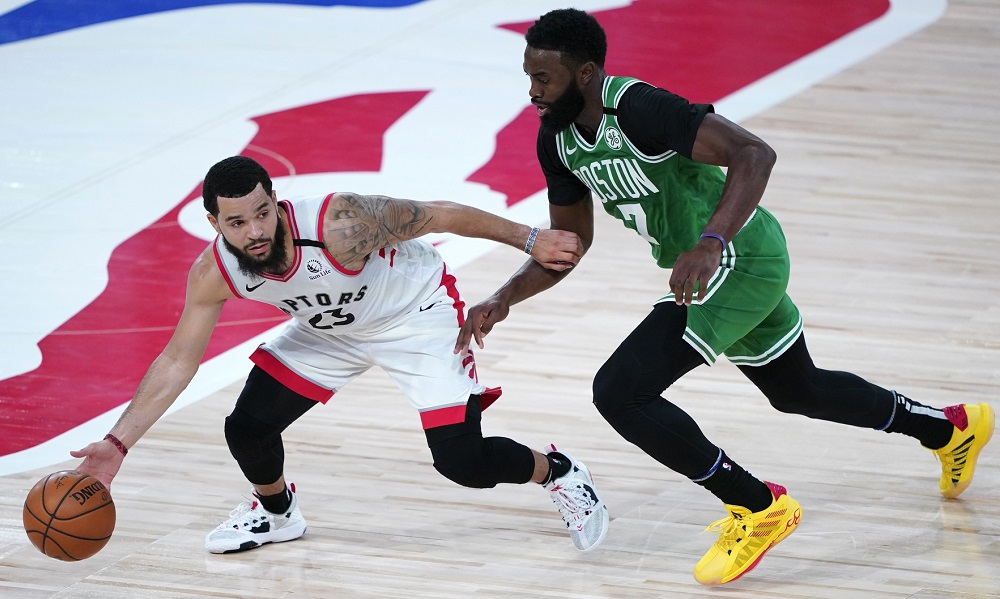 Your Morning Dump… Where Celtics-Raptors Game 1 is now set for Sunday, 1 p.m.