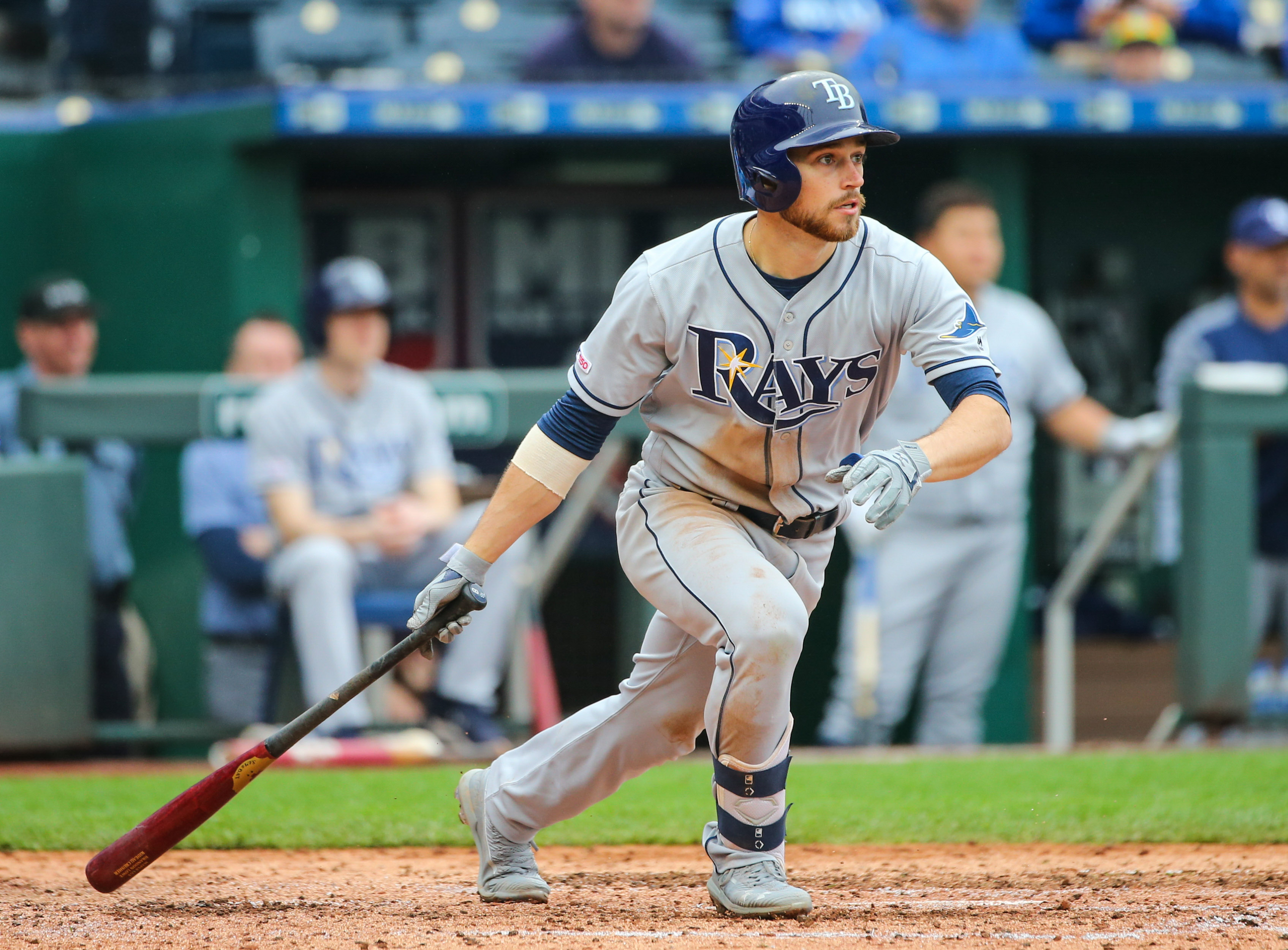 Brandon Lowe on a hot streak for the Tampa Bay Rays