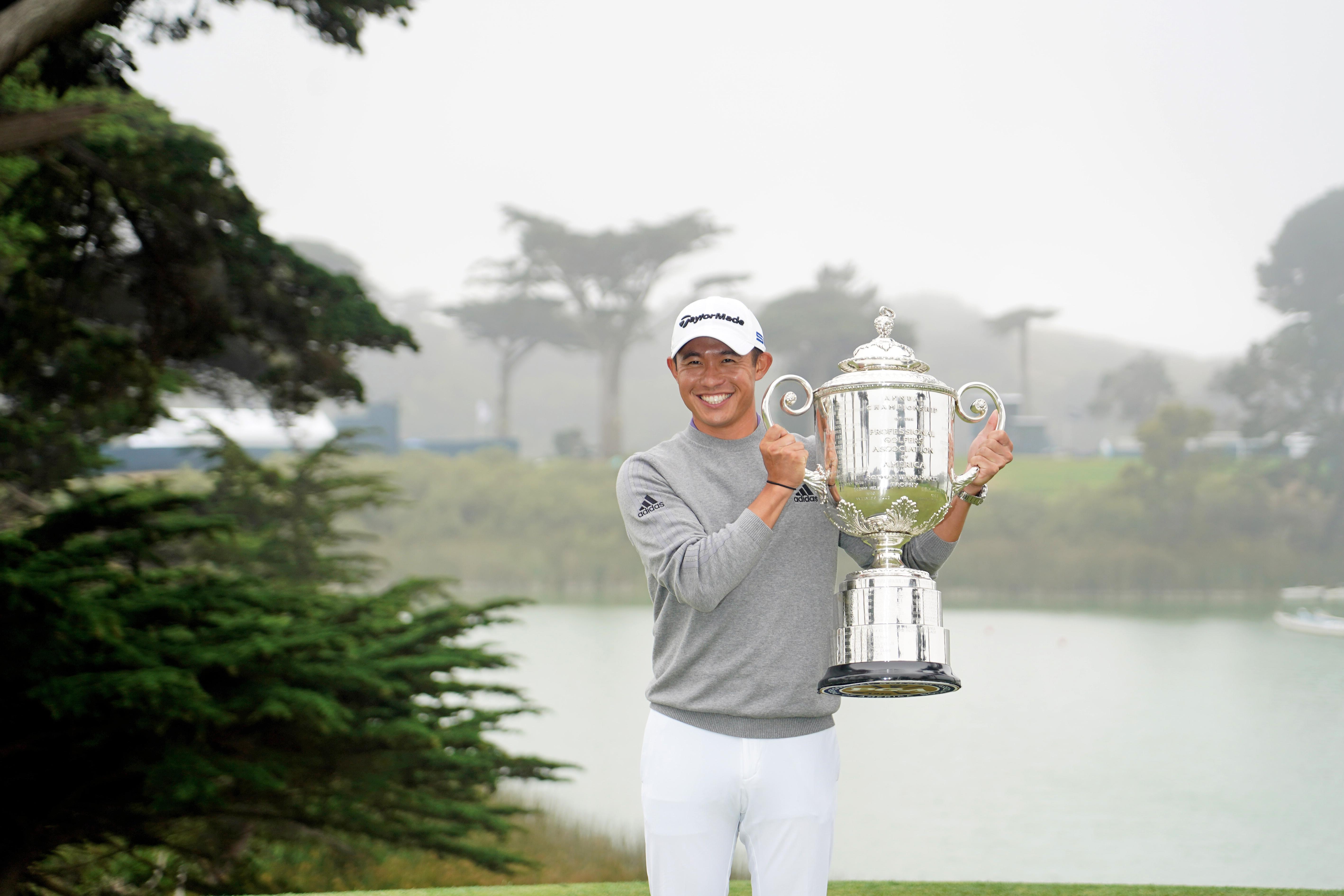 Collin Morikawa wins 102nd PGA Championship