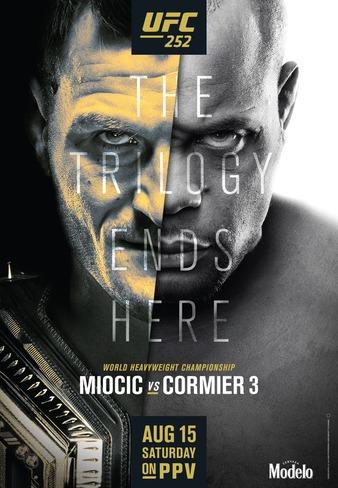 UFC 252: Miocic vs Cormier 3 Results