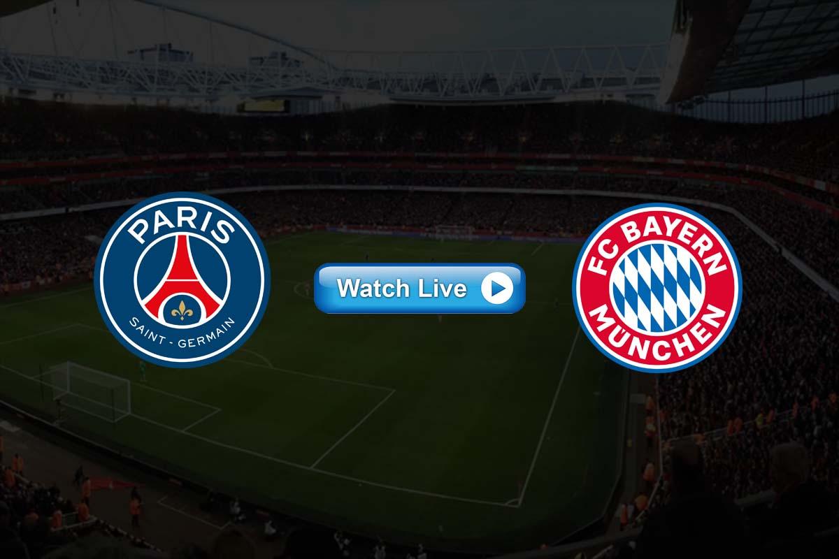 uefa PSG vs Bayern Munich Live Stream Reddit