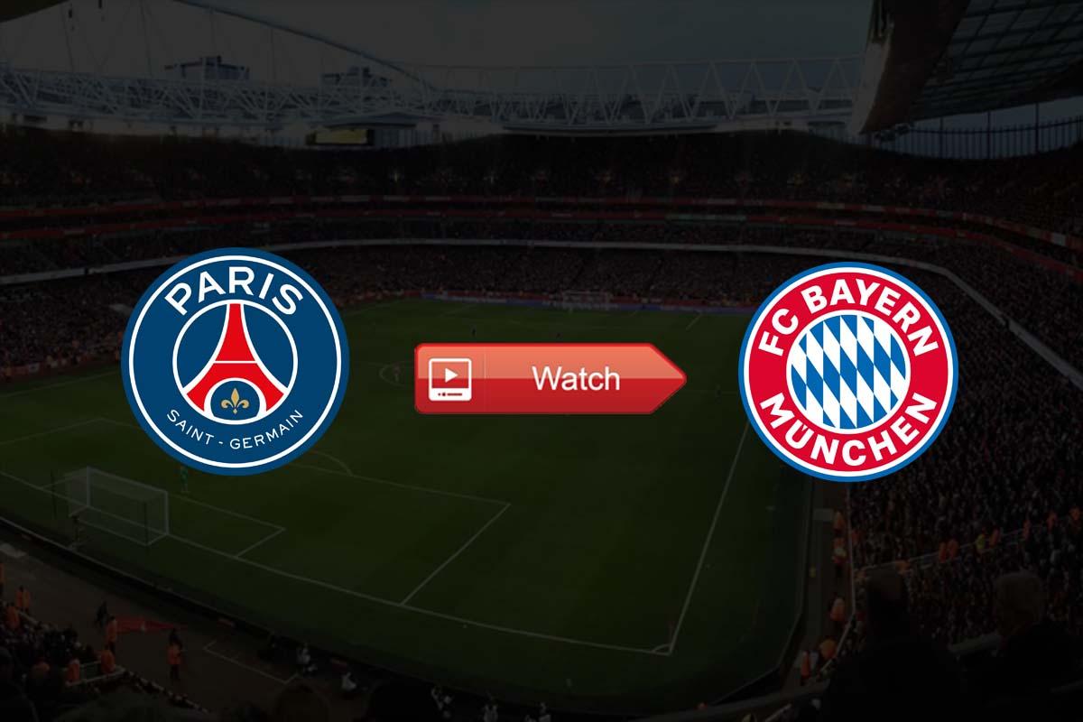 PSG vs Bayern Munich live stream Reddit