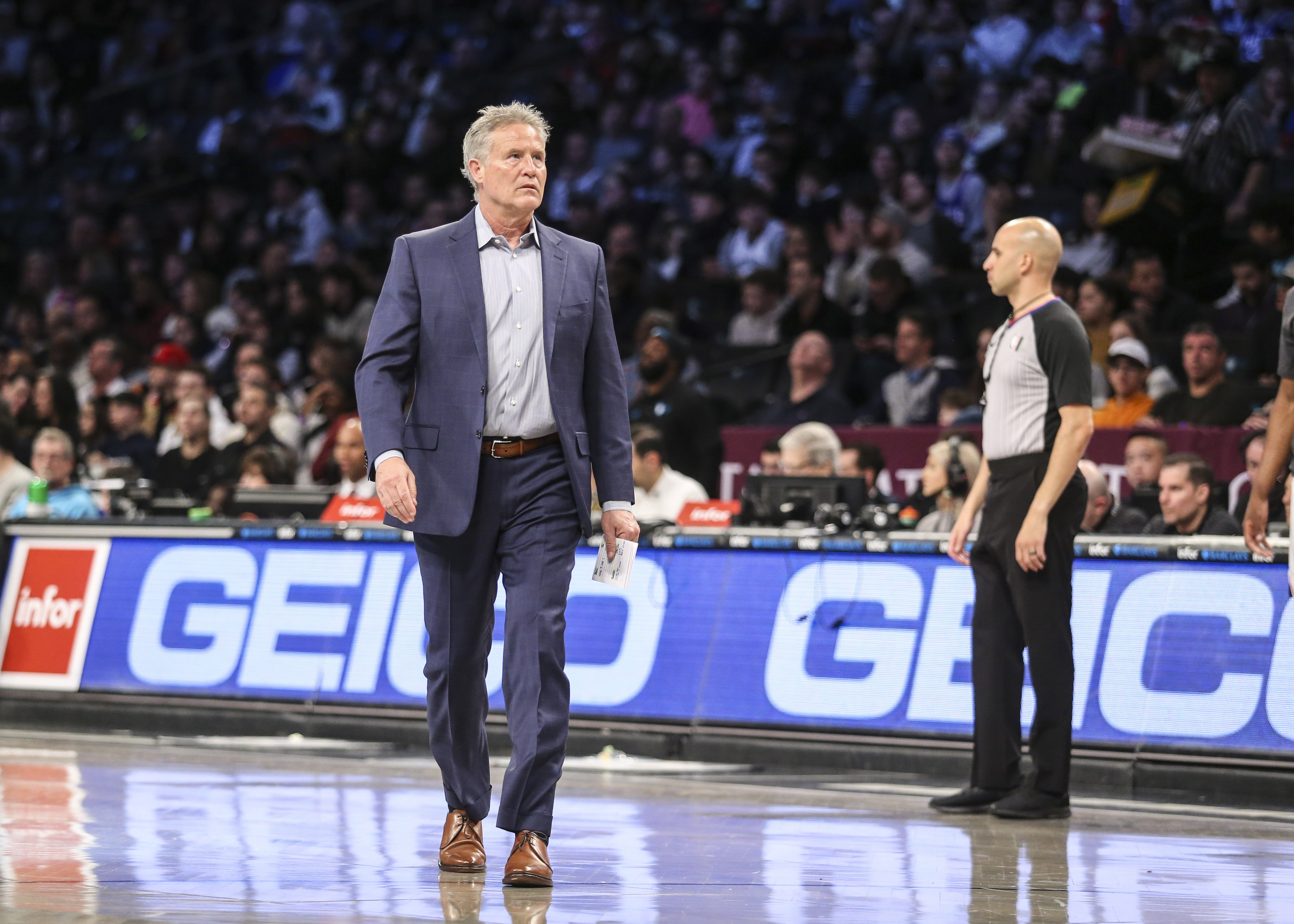 Sixers fire head coach Brett Brown after seven seasons