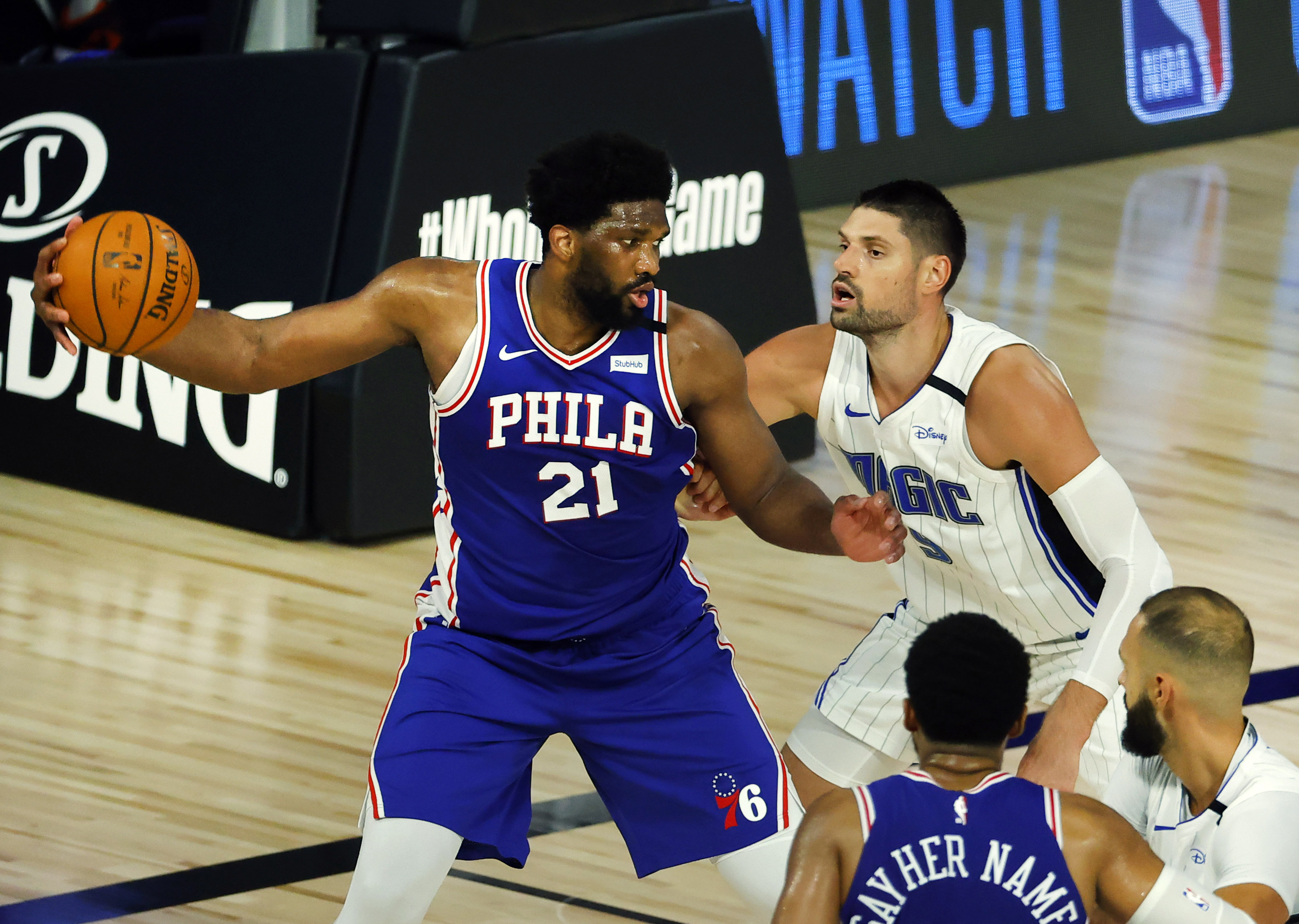 Embiid, Harris must carry Sixers without Ben Simmons