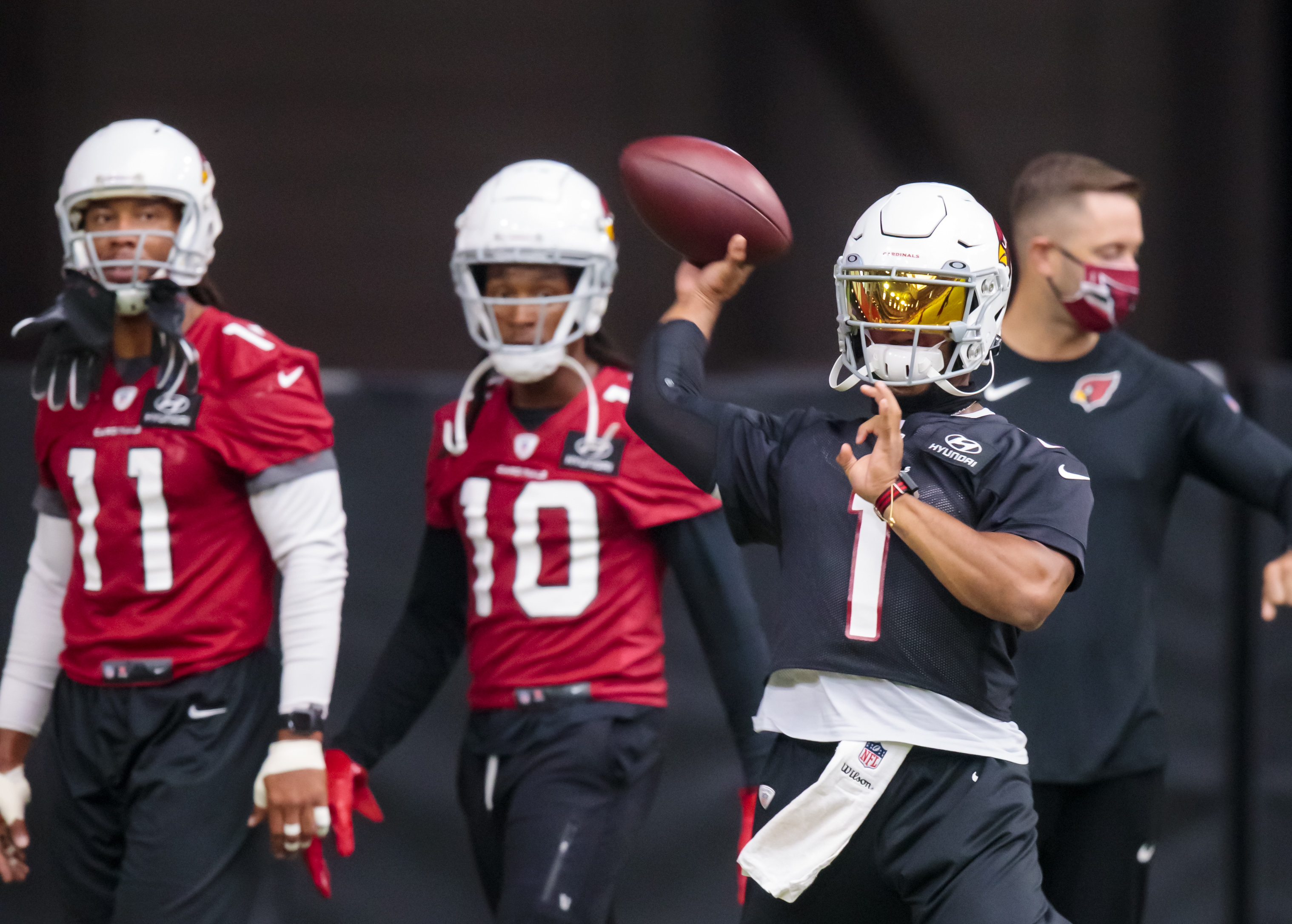 Kyler Murray believes three Cardinals wide receivers can each reach 1,000-yard mark