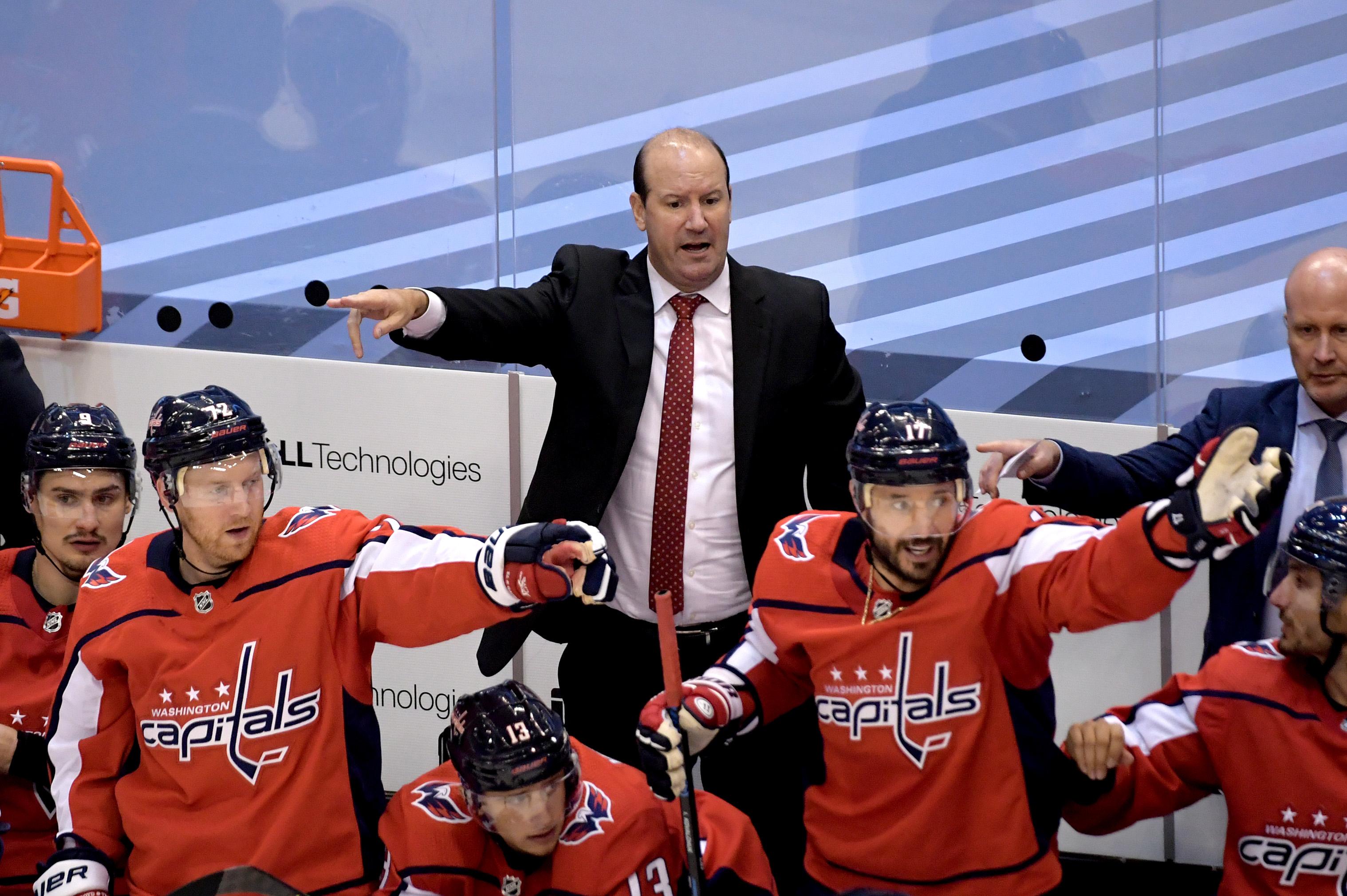 Washington Capitals fire head coach Todd Reirden