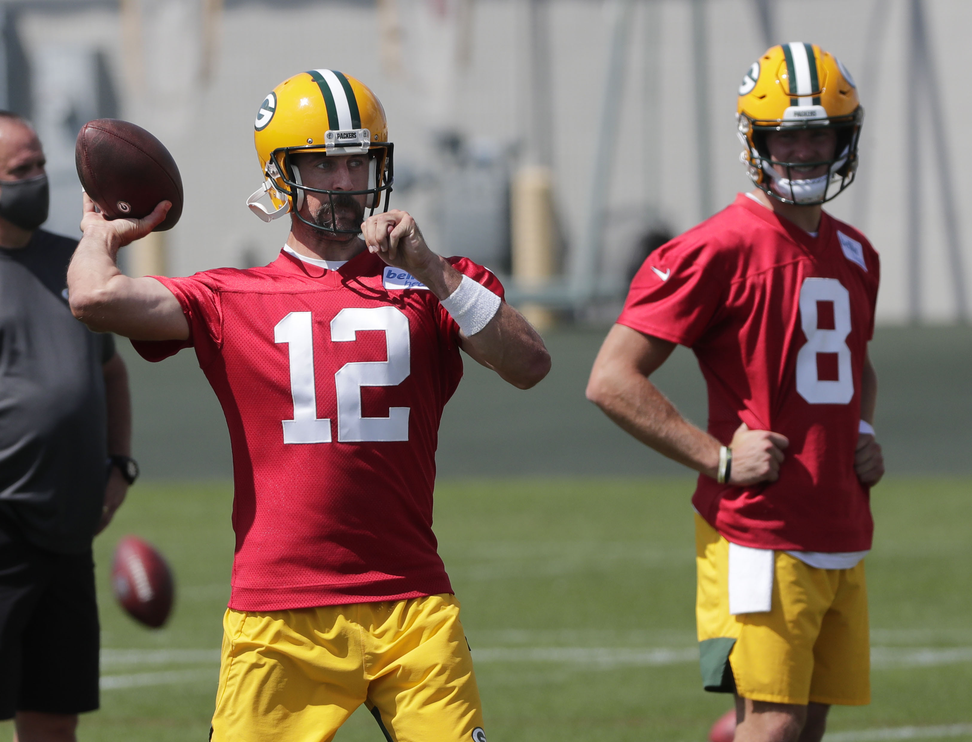 Packers QB Aaron Rodgers Continues to Adjust and Grow in Training Camp