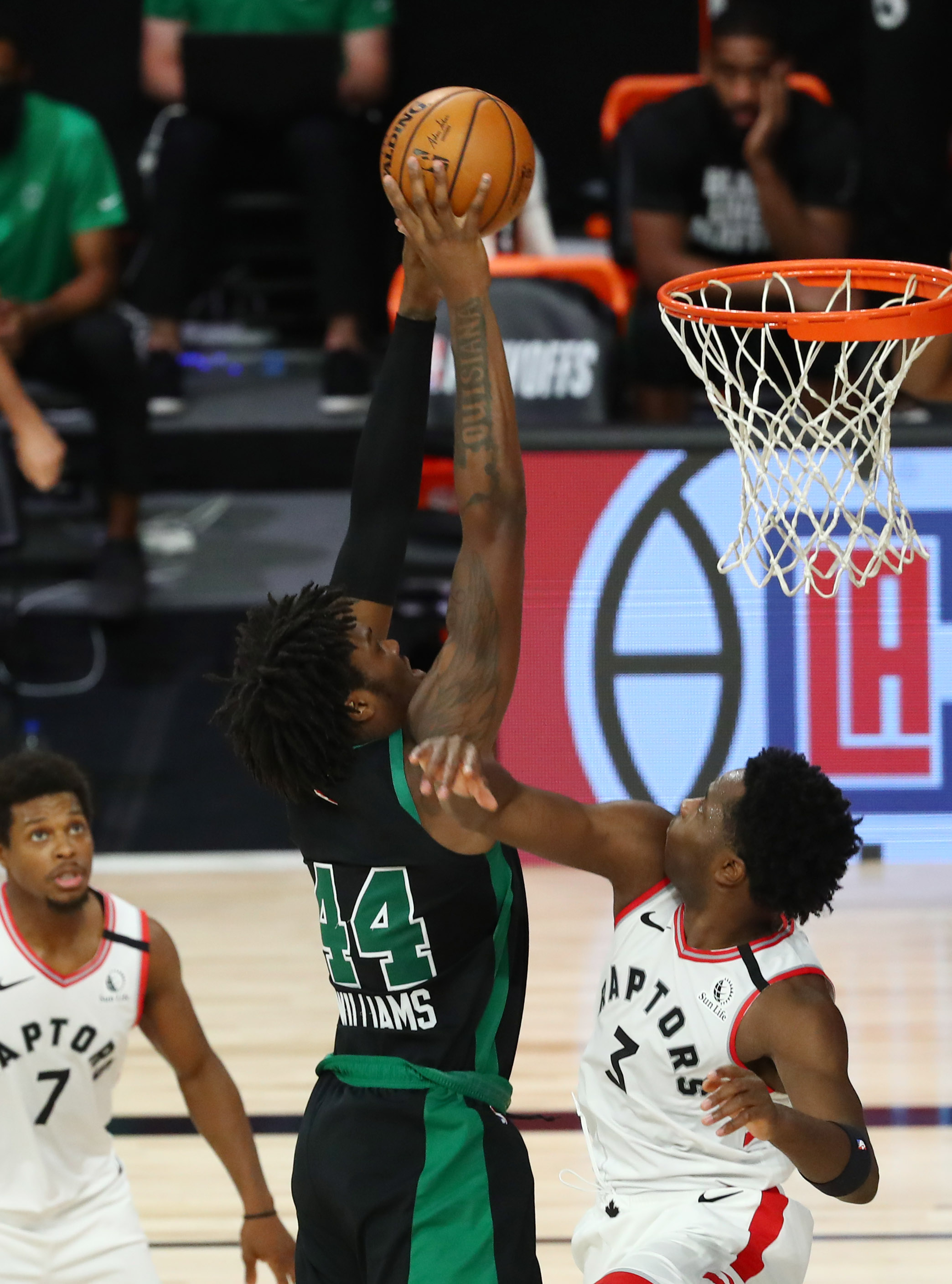 Your Morning Dump... Where Rob Williams has made his presence known against the Raptors
