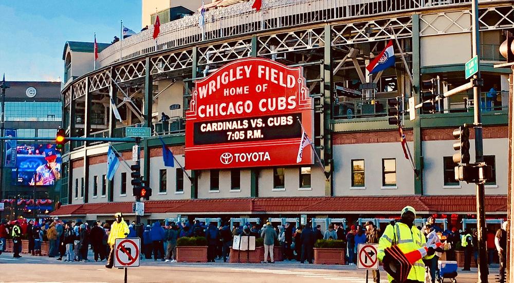 Chicago Cubs Fan Creates Replica Wrigley Scoreboard