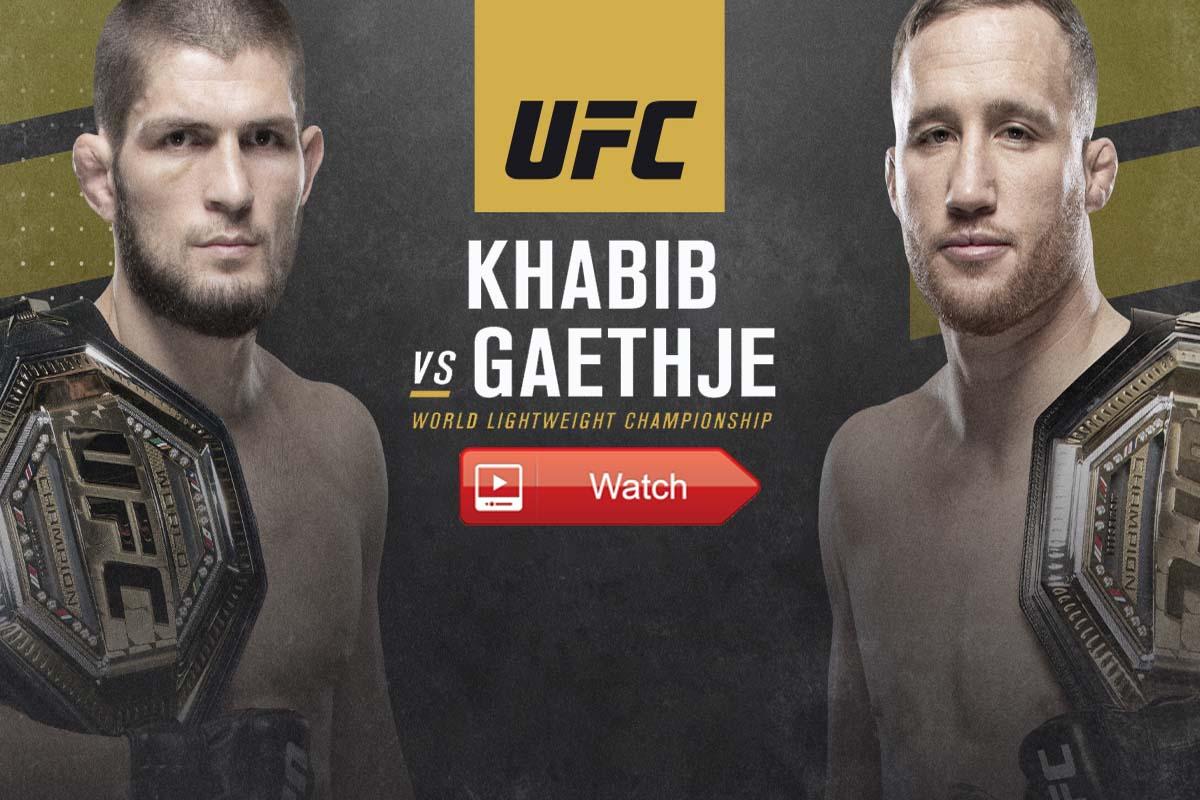 UFC 254 Live Stream Reddit