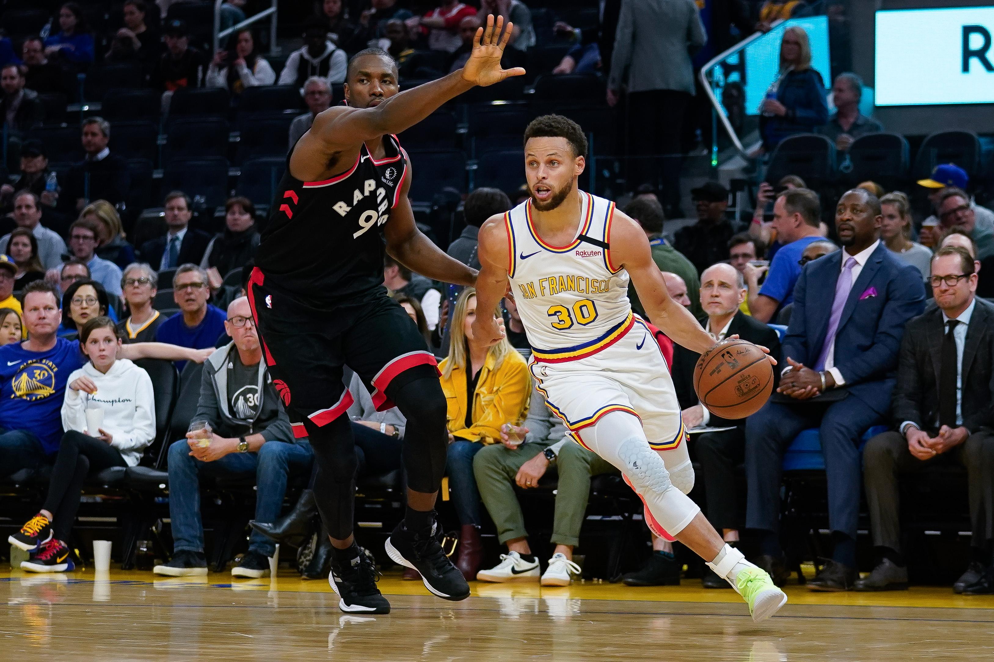 Raptors' Serge Ibaka is interested in Brooklyn Nets