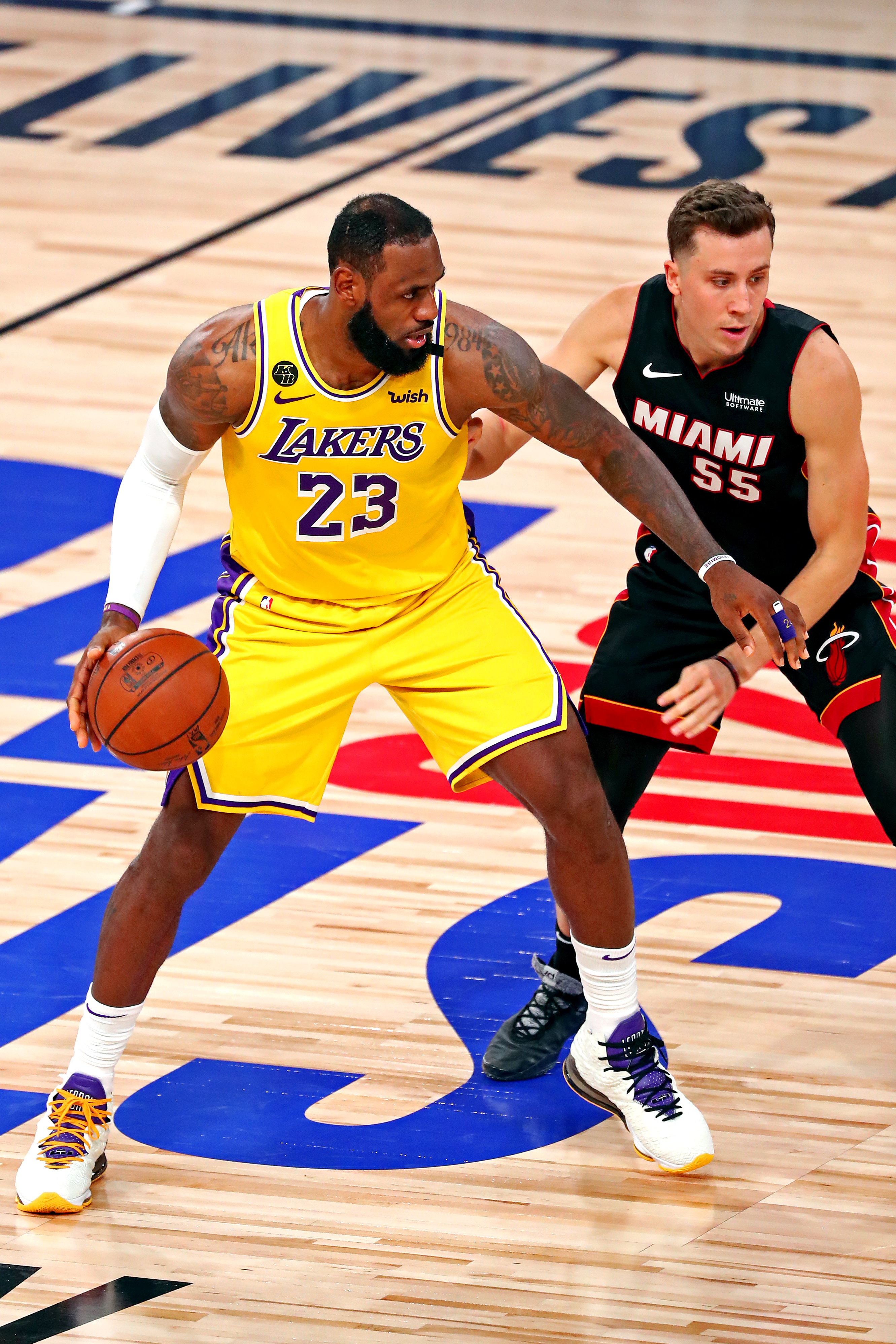 LeBron James guides Lakers to NBA Finals triumph