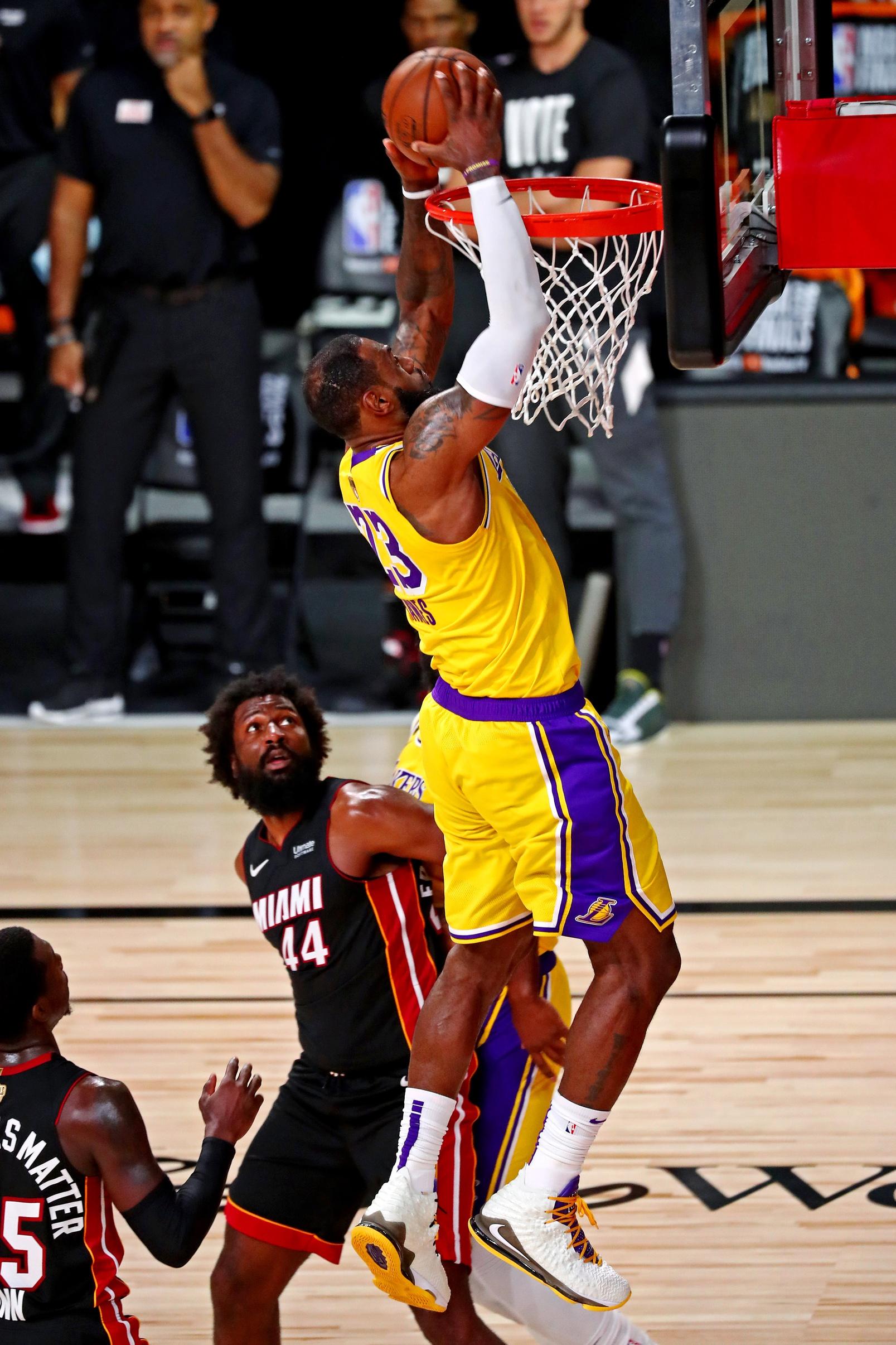 NBA Finals Game 1 Fantasy Stud: LeBron James