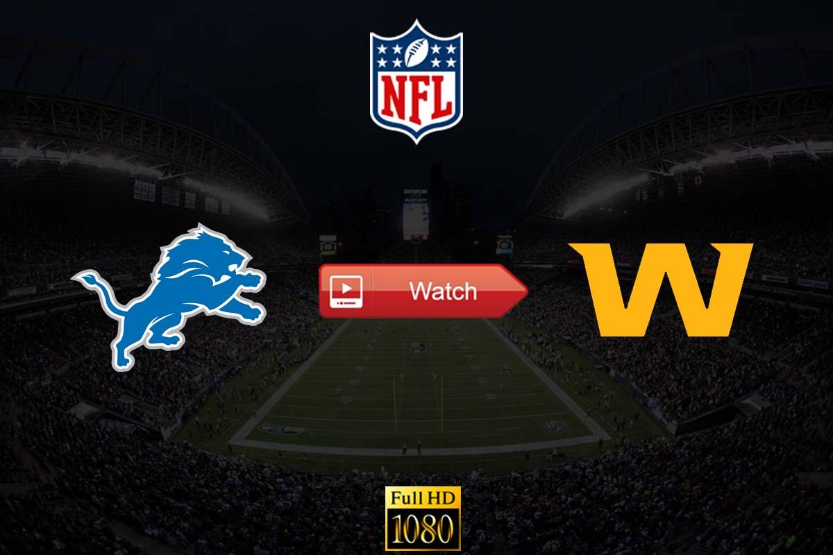 HD Lions vs Washington Live Stream Reddit Online Free Crackstreams