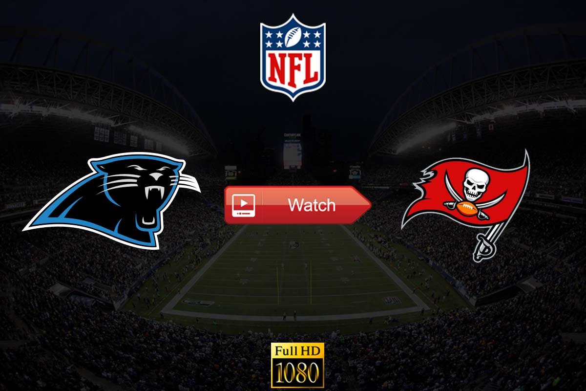 Week 10 Panthers vs Buccaneers Live Stream Reddit Watch Online Free