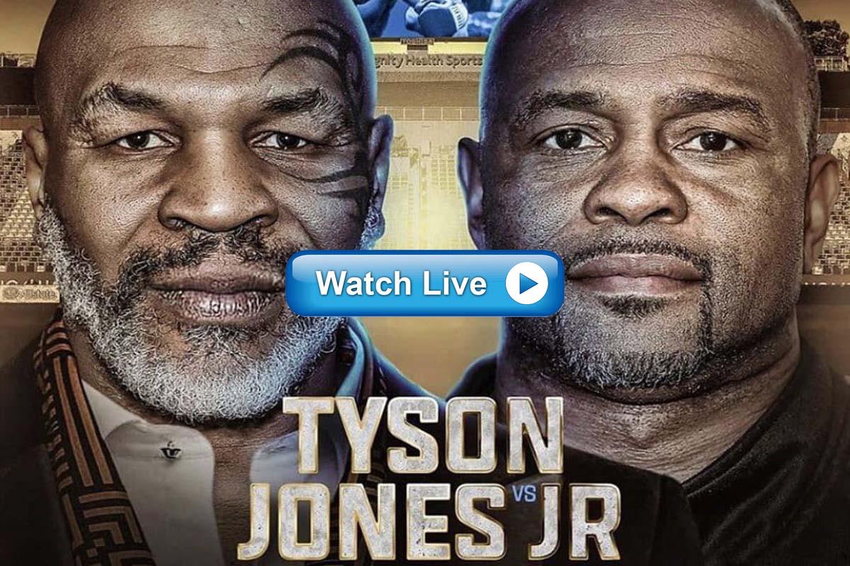 Full HD 4k Twitch Mike Tyson vs Roy Jones Crackstreams - How to Watch Mike Tyson vs Roy Jones Online Youtube