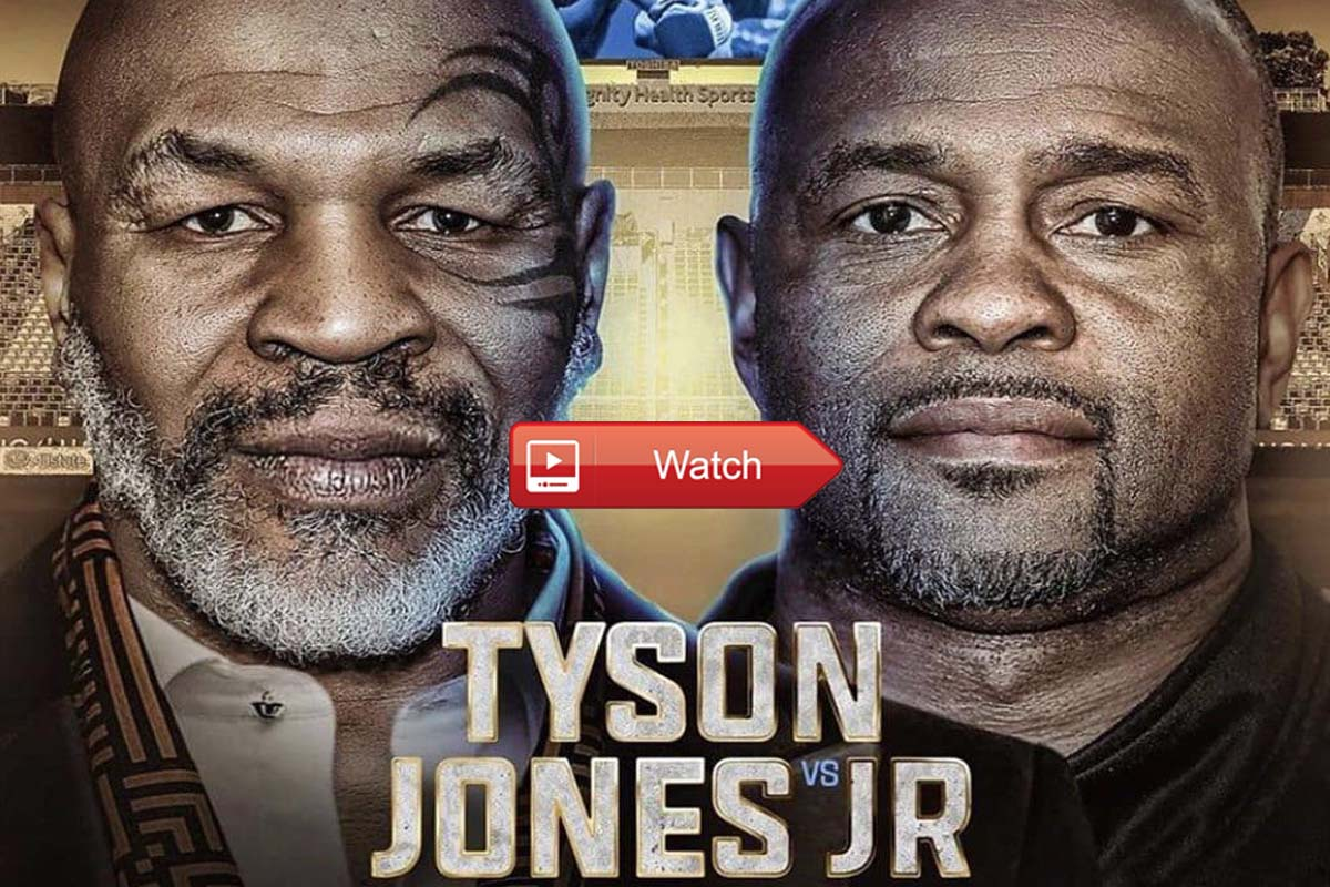 Mike Tyson vs Roy Jones live stream Reddit