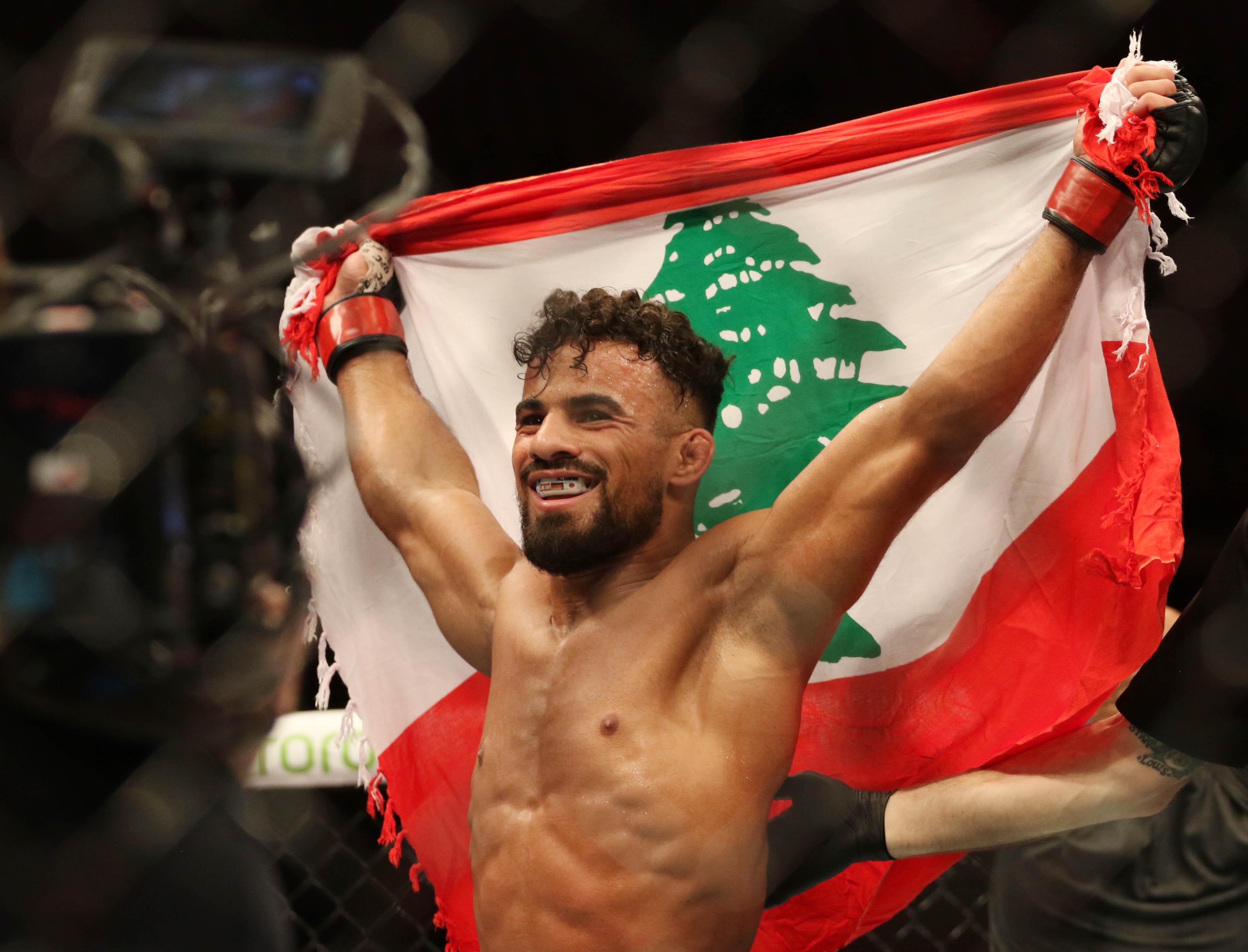 The Livest Dog at UFC Santos vs Teixeira: Khalid Taha