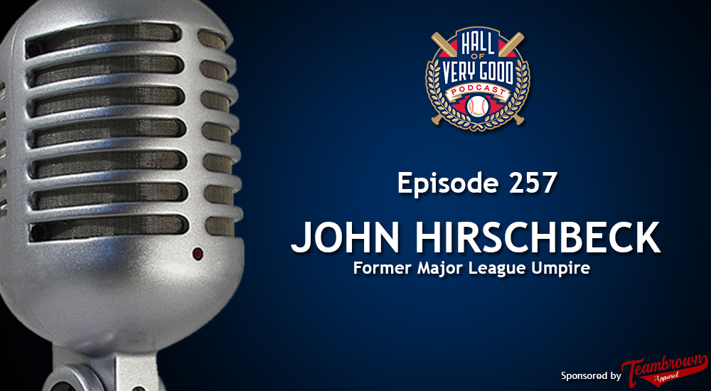 The HOVG Podcast: John Hirschbeck
