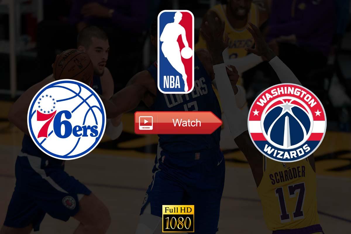 NBA 76ers vs Wizards Crackstreams Live Stream Reddit - Washington Wizards vs Philadelphia 76ers Youtube Start Time. Date, Venue, Highlights, Preview, and Updates