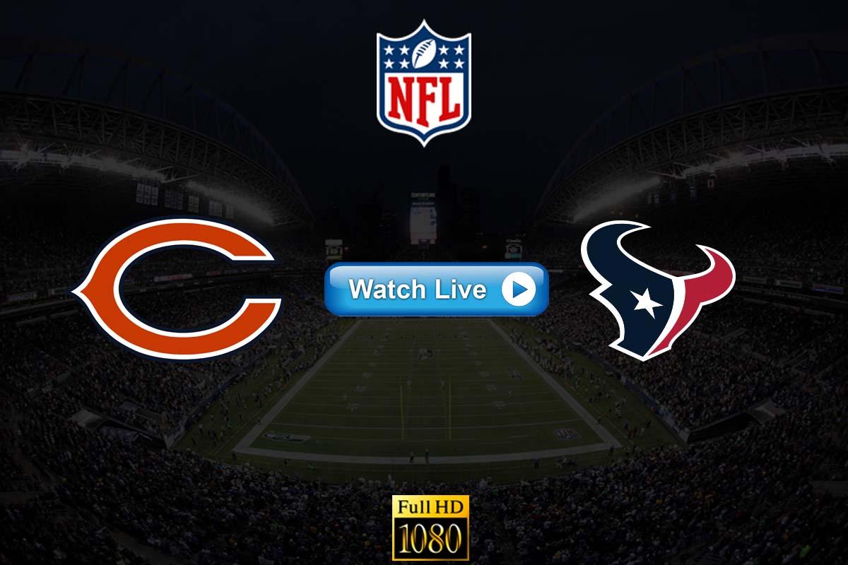 Bears vs Texans NFL crackstream