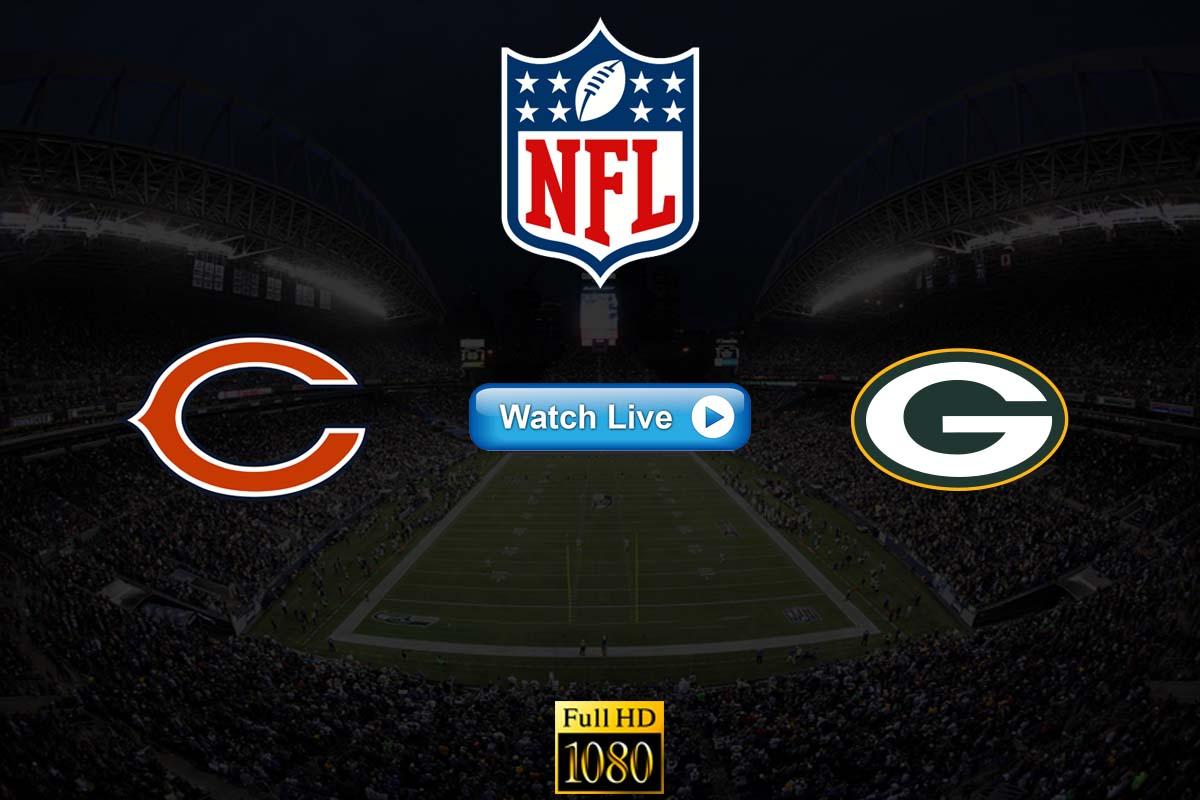 Bears vs Packers live streaming Reddit