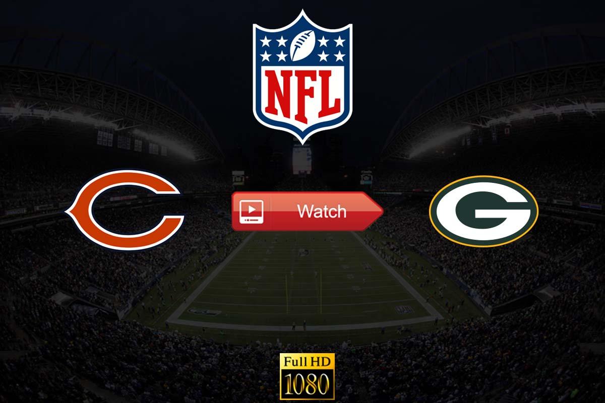 NFL Bears vs Packers Crackstreams Live Streaming Reddit: Watch Packers vs Bears Buffstreams Youtube TV, Time, Date, Venue and Schedule