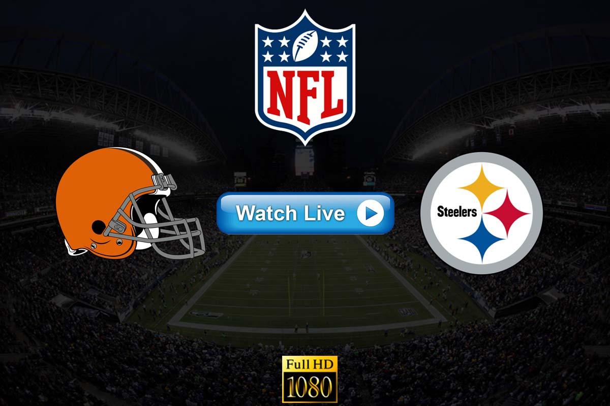 Browns vs Steelers live streaming Reddit