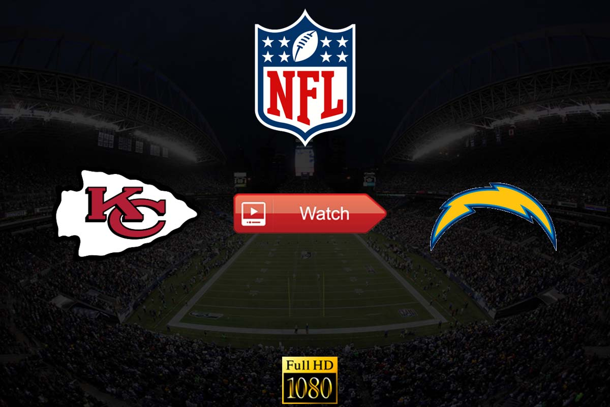 Chiefs vs Chargers live stream Reddit