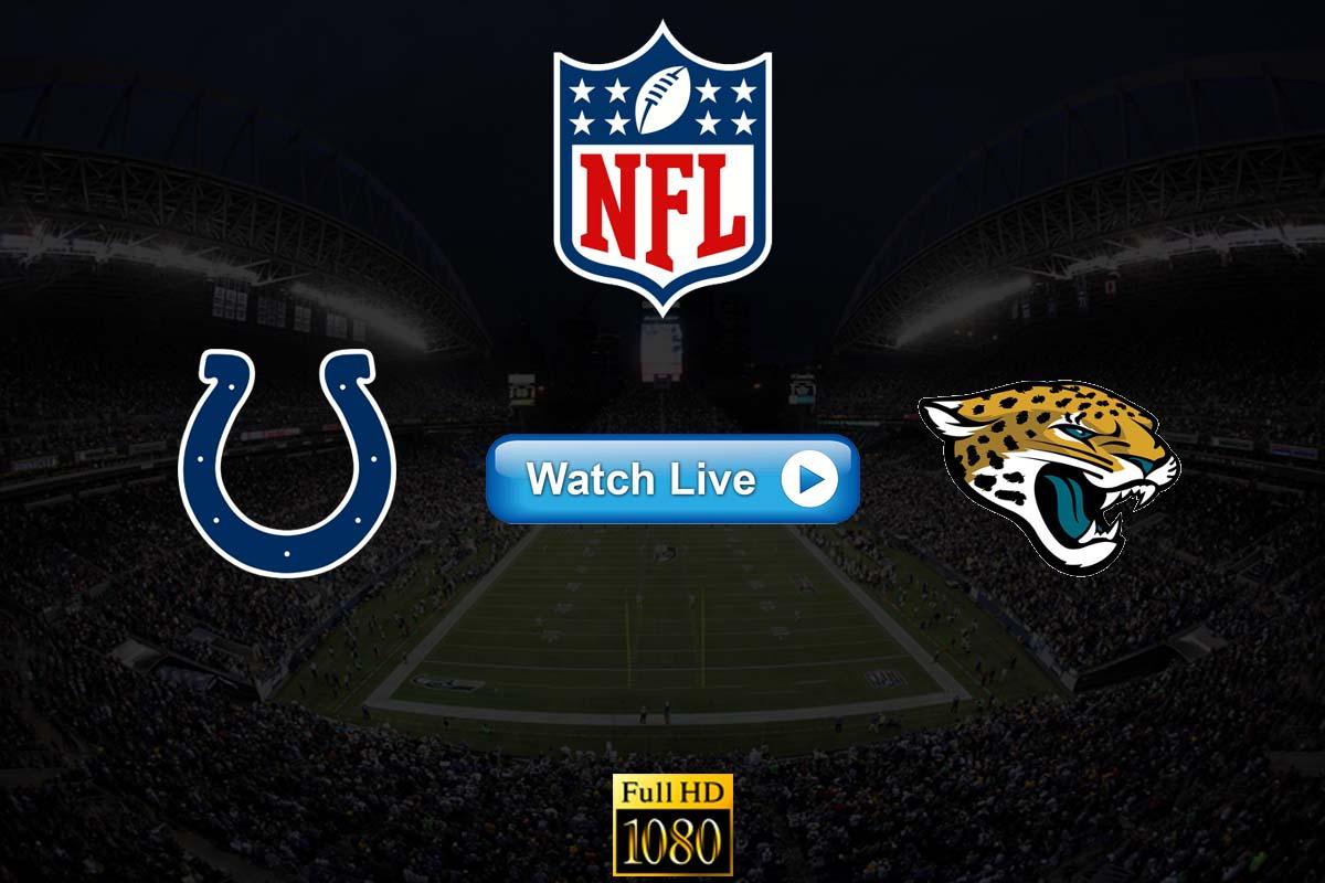 Colts vs Jaguars live streaming Reddit