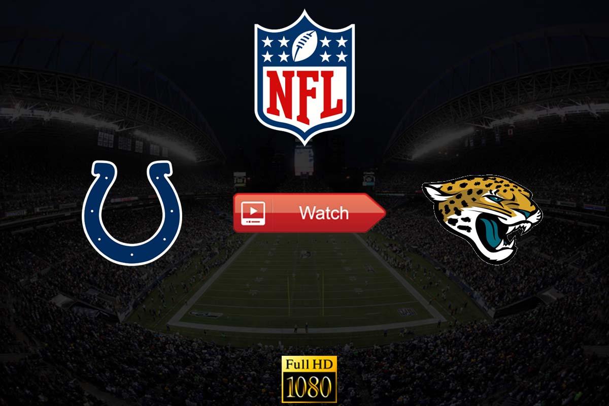 Colts vs Jaguars live stream Reddit