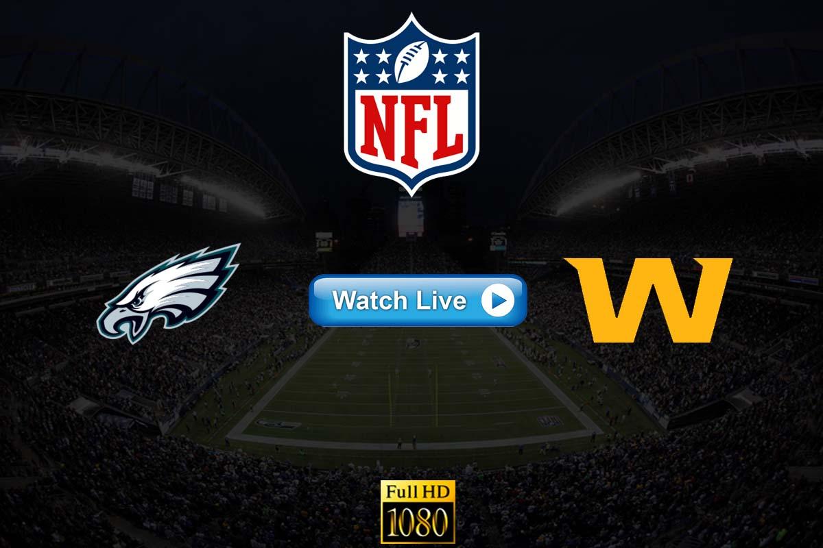 Eagles vs Washington live streaming Reddit
