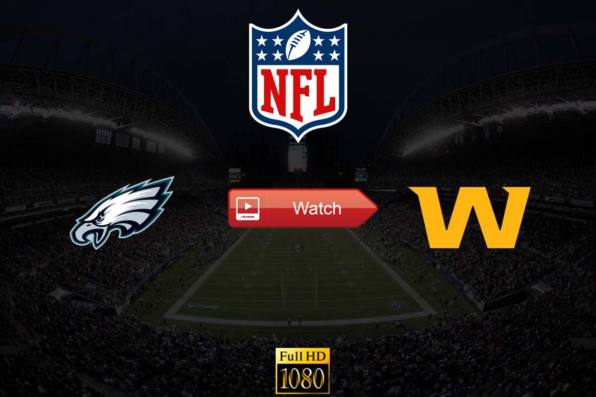 Eagles vs Washington live stream Reddit