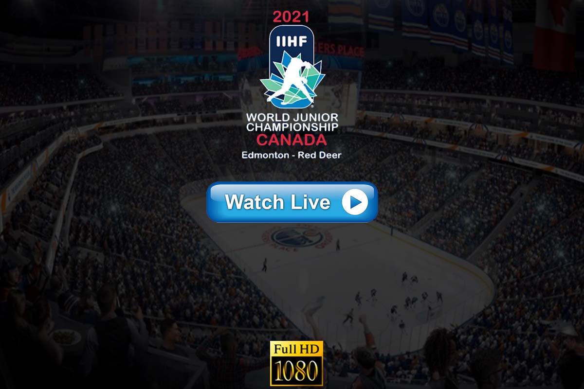 IIHF World Juniors Ice Hockey Championships live stream Reddit