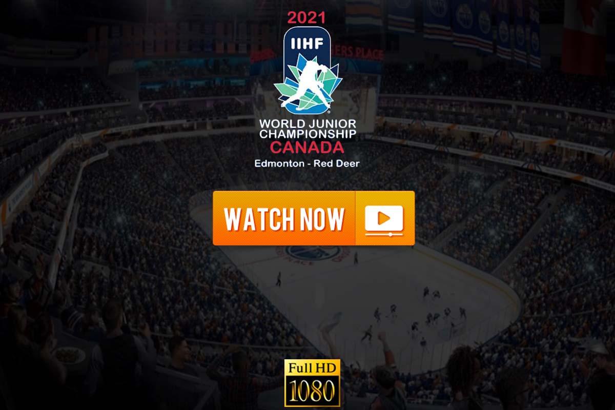 IIHF World Juniors Live Streaming 2021