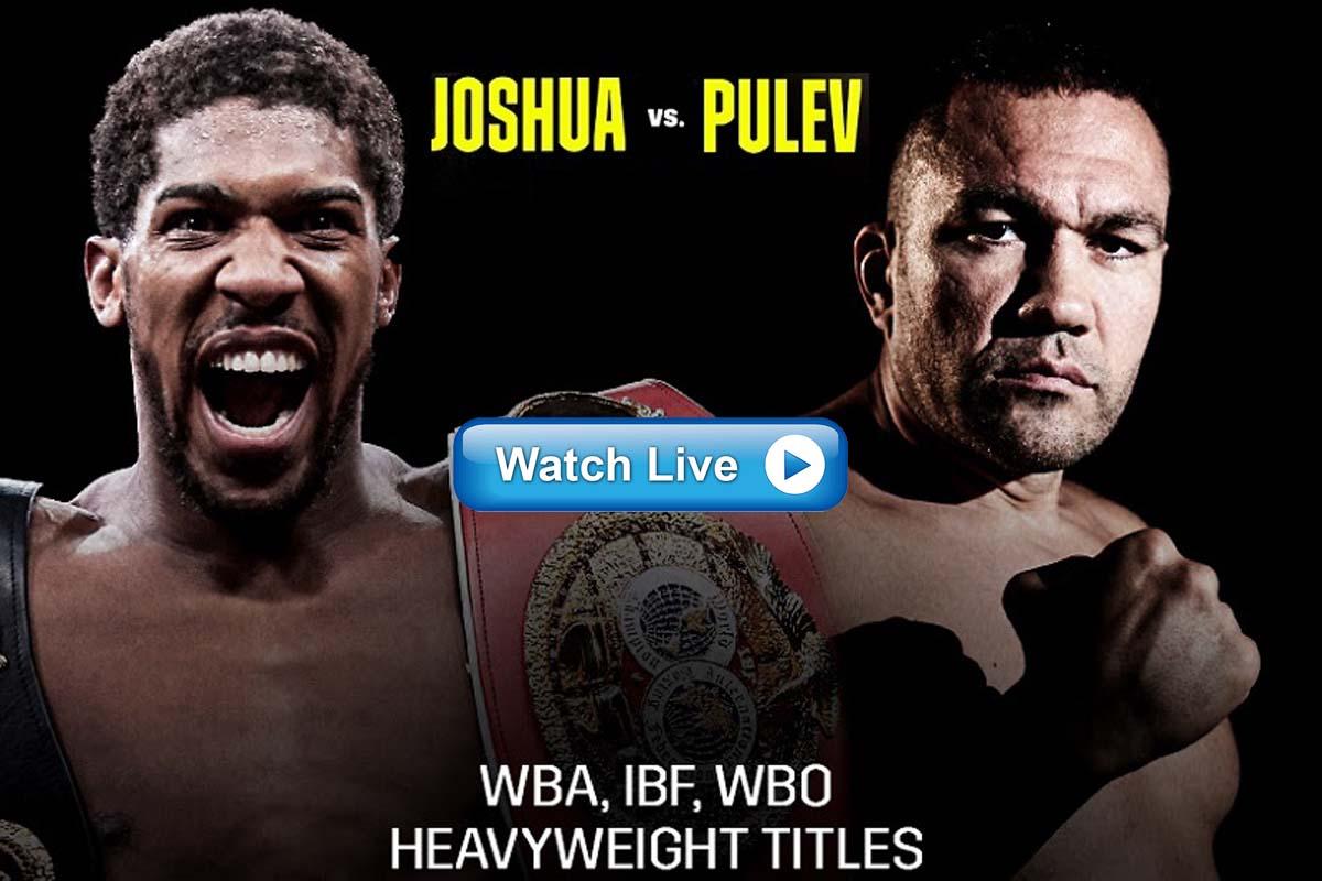 Anthony Joshua vs Kubrat Pulev crackstreams live stream