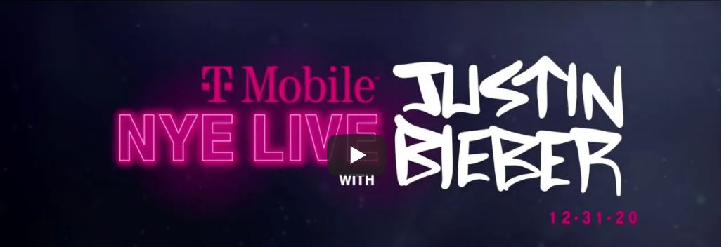 Justin Bieber New Year's Eve live stream