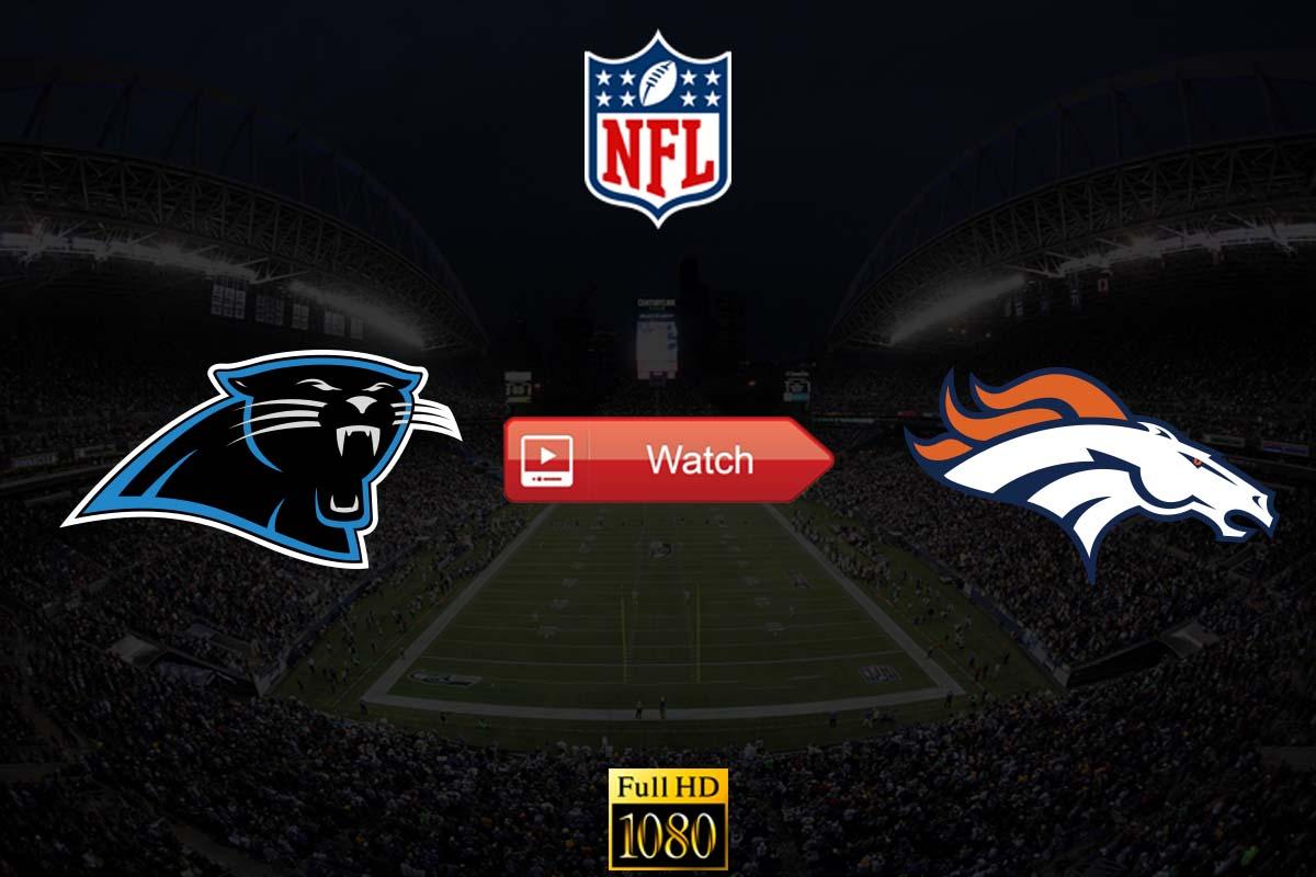 Panthers vs Broncos crackstreams
