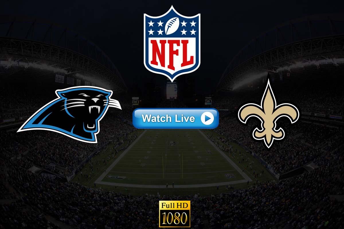 Panthers vs Saints live streaming Reddit