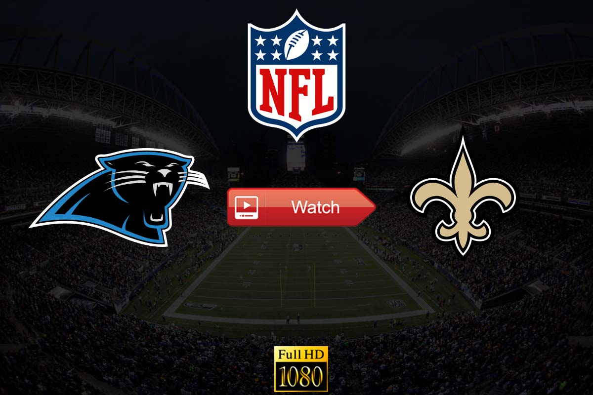 Panthers vs Saints live stream reddit