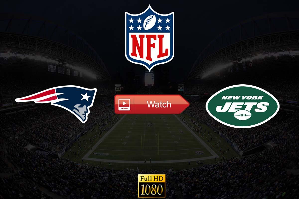 Patriots vs Jets live stream Reddit