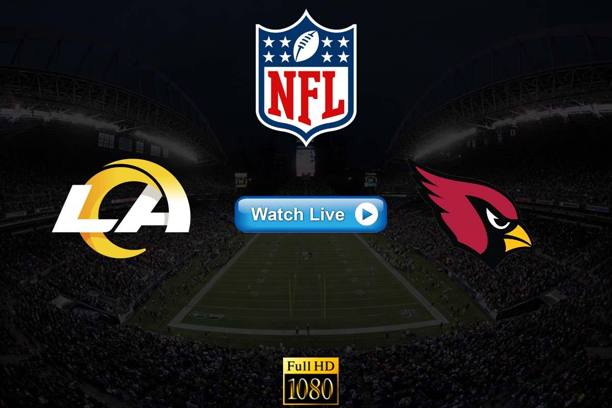 Rams vs Cardinals live streaming Reddit