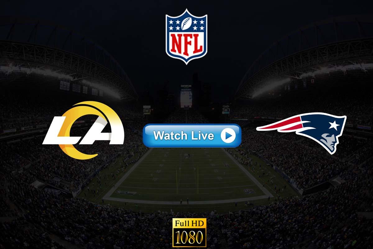 Rams vs Patriots live streaming Reddit