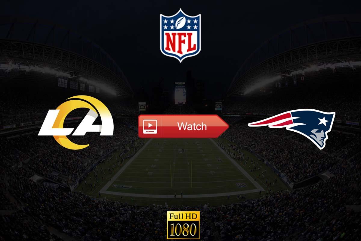 Rams vs Patriots Reddit Live Stream